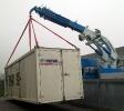 Scarico container generatore 16 ton
